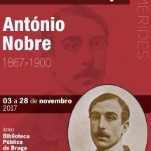Cartaz EFEMERIDES_Antonio Nobre