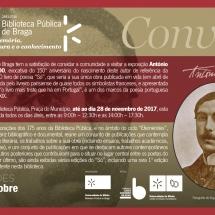 Convite EFEMERIDES Antonio Nobre